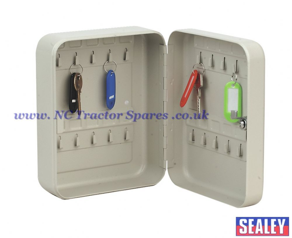Key Cabinet with 20 Key Tags